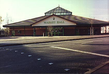 'New' Bromsgrove Market (now demolished)